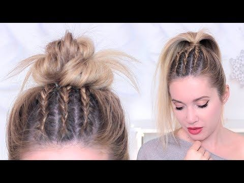Tuto Tresses Africaines Plaquees Collees Messy Bun Youtube Tuto Tresse Africaine Tuto Tresse Tresses Africaines