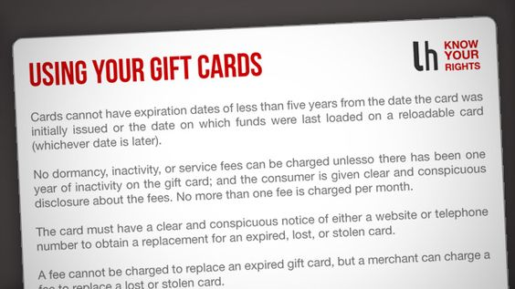 Always know how to deal with the gift card problems by keeping these cards in your wallet...: