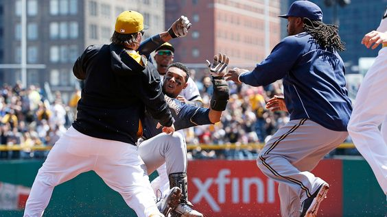 Benches Clear in Pirates 3-2, 14 Inning Loss to Brewers | Pittsburgh Sporting News