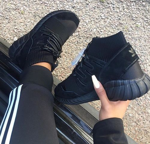 Image de adidas, shoes, and black ADIDAS Womens Shoes - amzn.to ...