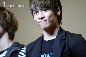 such a cute smile of Jonghyung