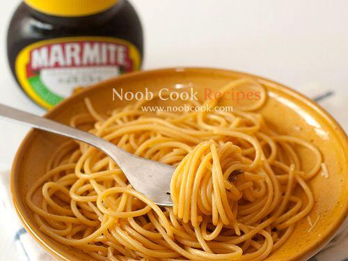 Marmite Spaghetti (Nigella Lawson's Recipe). For all my New Zealander friends!