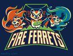 Fire Ferretsby ~misskari                  Designs & Interfaces / Mascots©2012 ~misskari