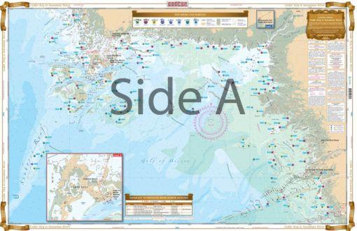 Cedar Key To Suwannee River Inshore Fishing Chart 30f Waterproof Charts Inshore Fishing Inshore Fishing Maps