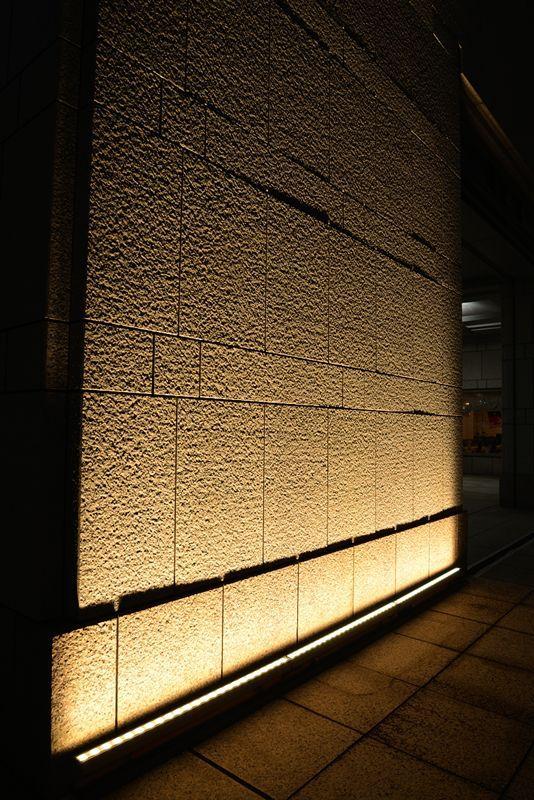 Http Www Dnlighting Co Jp Example 2013 1025101035 Wall Wash Lighting Exterior Lighting Exterior Lighting Design