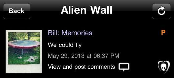 Bill: Memorias   Nós podíamos voar