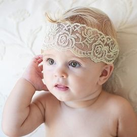 Diadema de encajes tipo antiguo kids fashion pinterest - Diademas de encaje ...