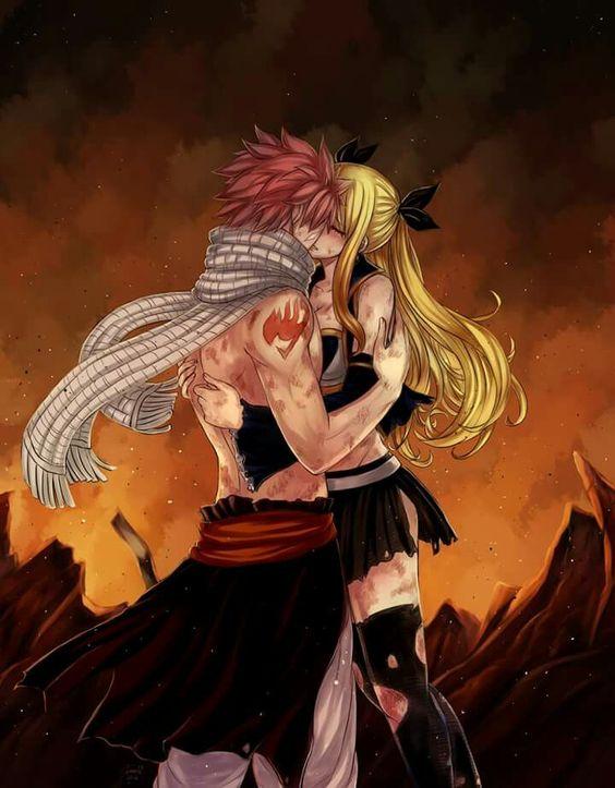 Nalu ( kiss) || Natsu Dragneel x Lucy Heartfilia || Fairy ...
