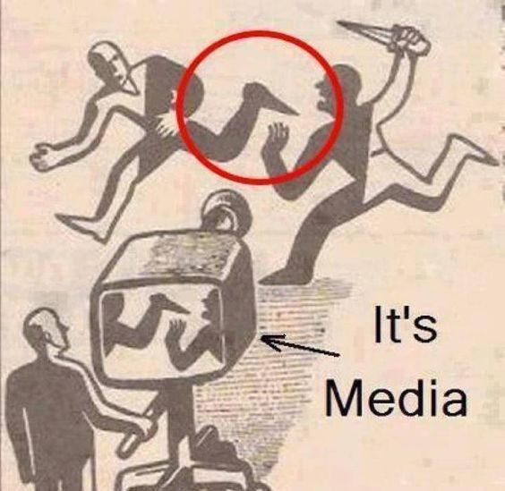 Does modern media lead or manipulate war and society?