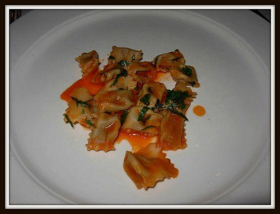 Babbo pasta tasting menu  [Greenwich Village, Manhattan]