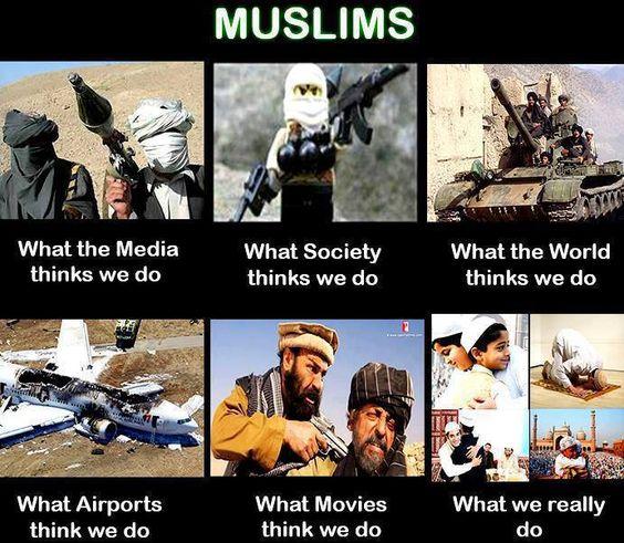 MUSLIMS ARE NOT TERRORISTS!