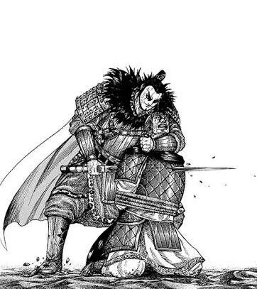 敵をさす桓騎