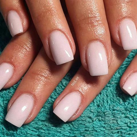 My Beautiful Client Stephani S Candyfloss Acrylic Overlay Candyfloss Acrylic Overlay Nailee Nails Loveit Less Gel Overlay Nails Neutral Nails Fake Nails