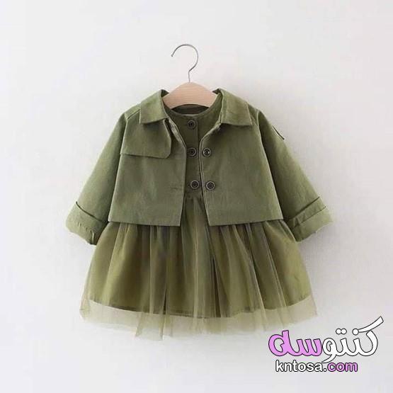 صور ملابس اطفال بنات صيف 2020 ازياء اطفال 2020 ملابس بنات 2020 ملابس اطفال حميله Baby Girl Jackets Baby Girl Dresses Jacket Dress