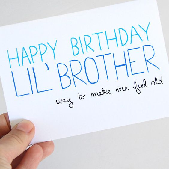 Brother Birthday, Little Brothers And Birthday Cards On