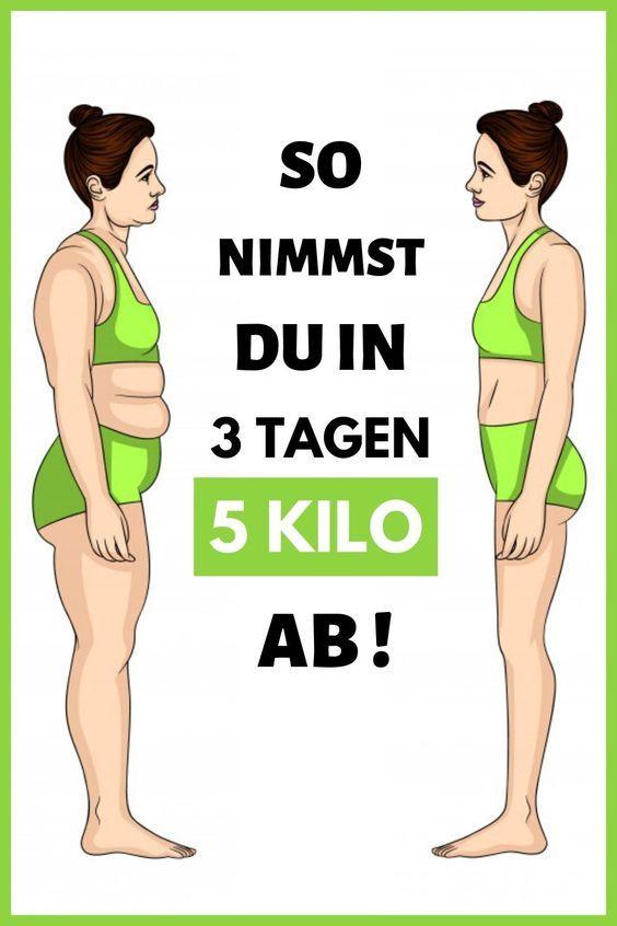 Tone Arme vor und nach dem Abnehmen