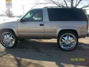 2 door tahoe rockstar rims 1998 chevrolet tahoe 4 sale. Black Bedroom Furniture Sets. Home Design Ideas