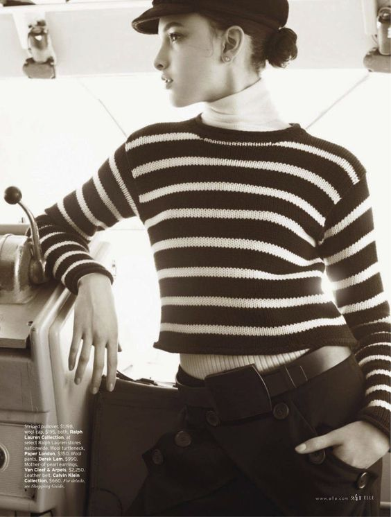 hot under the collar: clarice silva vitkauskas by mariano vivanco for us elle august 2013