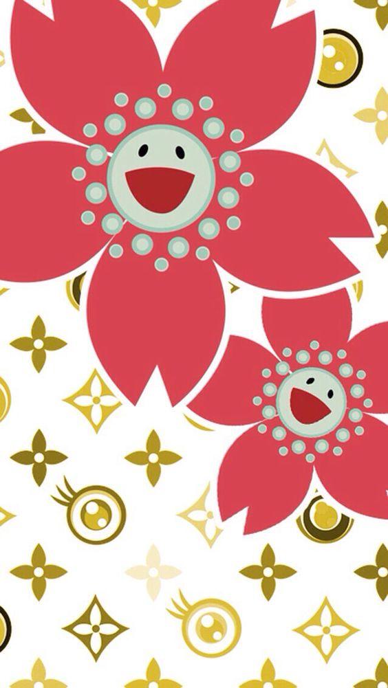 Wallpaper E Takashi Murakami Art Murakami Flower Cellphone Wallpaper Backgrounds