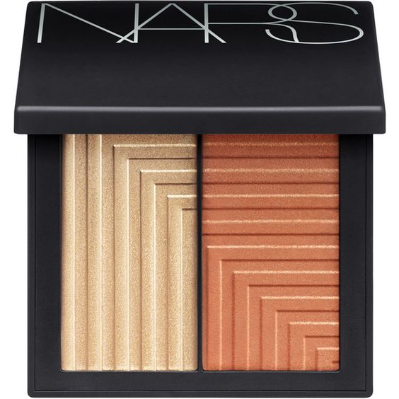 Nars Dual-Intensity Blush Pallet In Frenzy (14 KWD) ❤ liked on Polyvore featuring beauty products, makeup, cheek makeup, blush and nars cosmetics