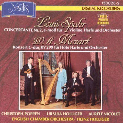 Konzert für Flöte, Harfe und Orchester  https://goo.gl/p7hYsi