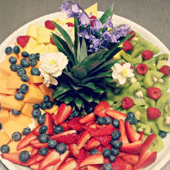 A #healthy way to celebrate #birthday! #agencylife #intheoffice #fruit