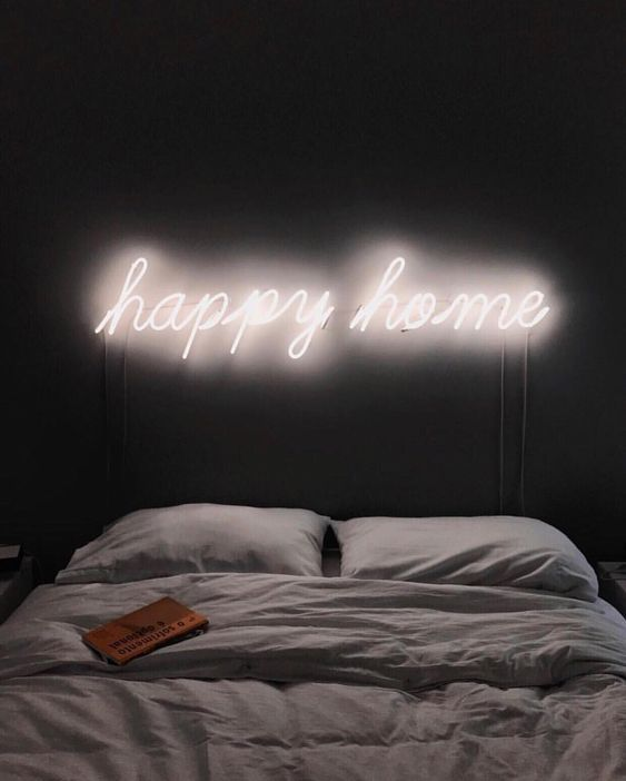 25 Awesome Ideas To Use Neon Lights For Home Decor Neon Bedroom