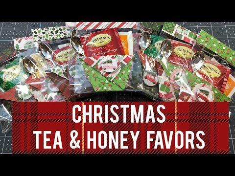 Craft Fair Idea 14 Christmas Tea Honey Favors 2019 Youtube Honey Favors Christmas Tea Christmas Craft Fair