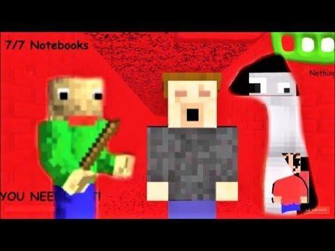 Baldis Basics 3d Morph Rp Baldis Basics In Education And Learning 3d Roblox Map 2 - I M Playing Minecraft With Baldi Baldi S Basics Mod Baldi S