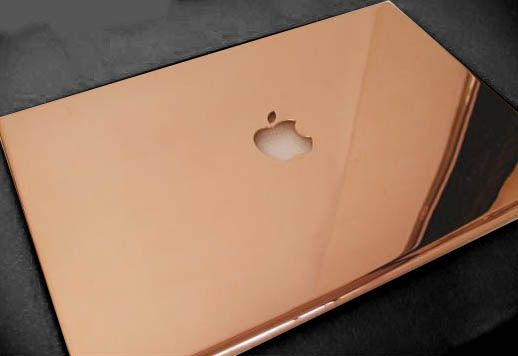Rose gold for my macbook pro.