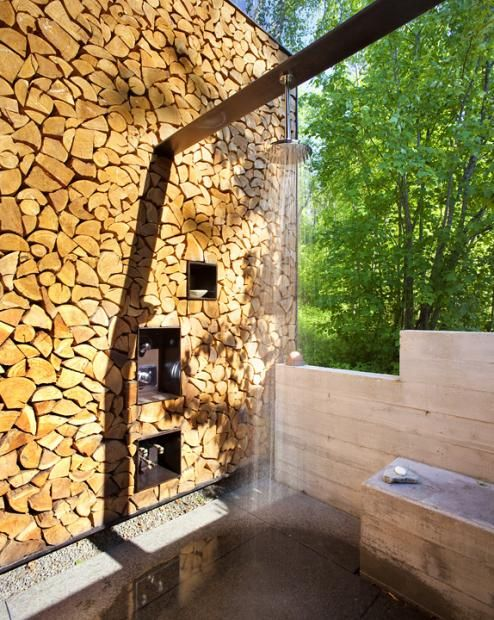 Stone Creek Camp Outdoor Shower