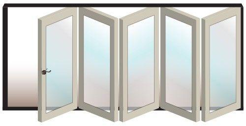 5 Door Folding Door System #5R