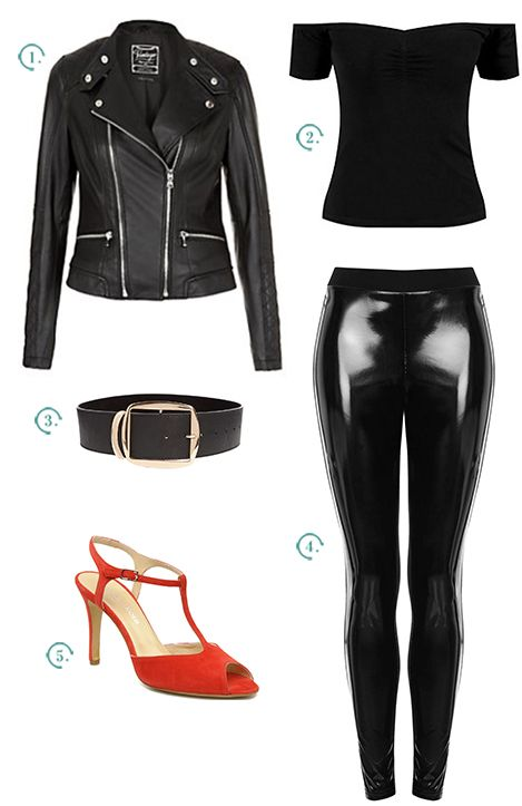 Sexy Sandy's outfit in Grease // Le look de Sandy dans Grease