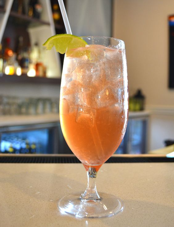 The 312 Clematis Drink Recipe from the Westin Grand Cayman