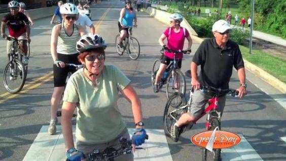 Group bike rides