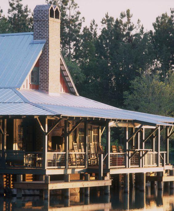 LAKE HOUSE  |  South Carolina  | Historical Concepts