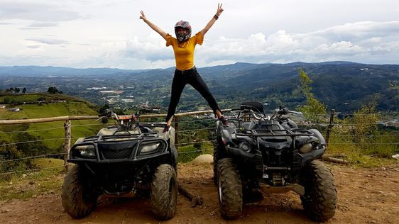 STUNNING ATV 1HR + FUN RAFTING 3HR from Medellin - Image 2