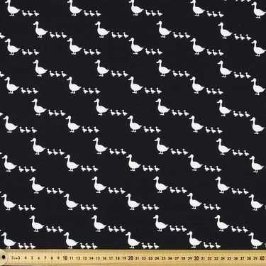 Copenhagen Ducks Cotton Spandex Black 148 cm
