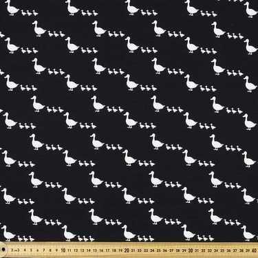 Copenhagen Ducks Cotton Spandex Black 148 cm