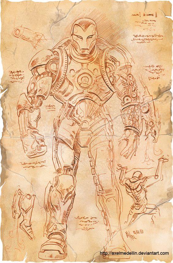 leonard-de-vinci-armure-iron-man