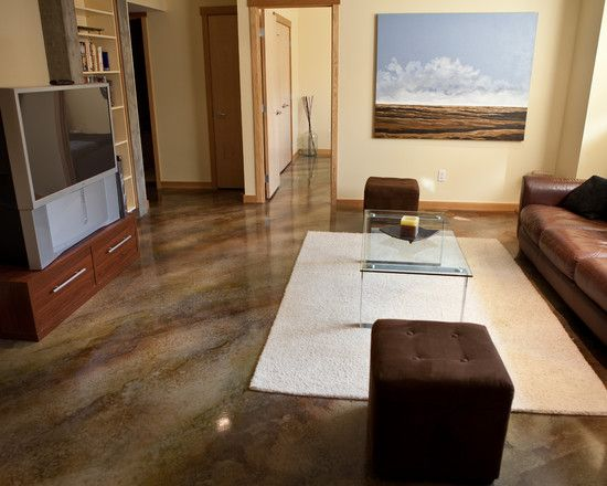 acid Washed Concrete Floors High Gloss Dream Home