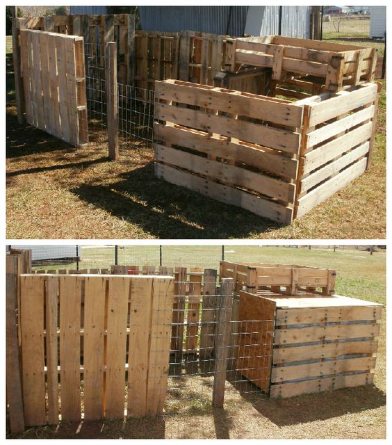 #ChickenCoop, #RecycledPallet