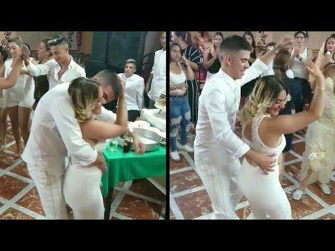 البوز في الجزائر الشاب لم يتمالك نفسه امام الجميلة رقص عرس روعة Dance Remix Dance Remix Youtube Dance