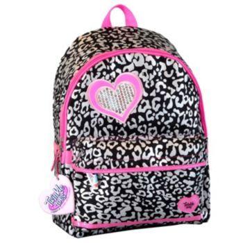 Skechers Twinkle Toes Light-Up Cheetah Puff Backpack - Kids Kohls