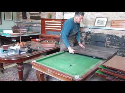 Antique Pool Dining Tables Snooker Dining Tables Browns Antiques Billiards And Interiors Pool Table Dining Table Dining Table Antique Billiards