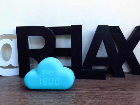 Mint Cloud Clock