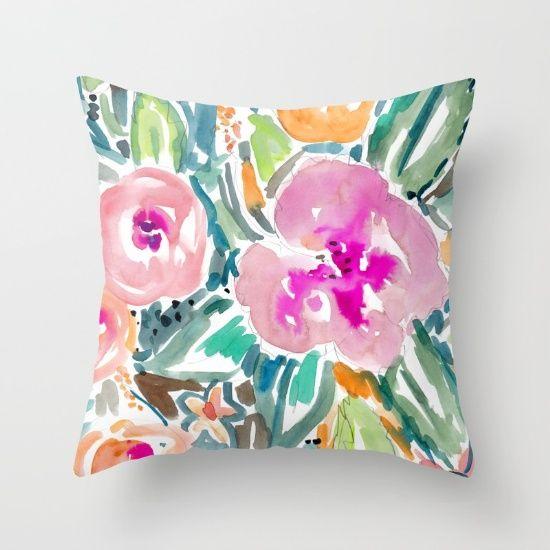 www.barbraignatiev.com<br/> <br/> hibiscus, pink, green, navy...