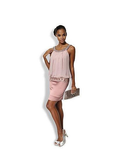 Carry Allen - Cocktailkleid rosé im Heine Online-Shop kaufen