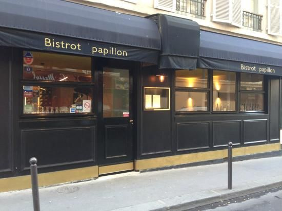 Paris: Bistrot Papillon