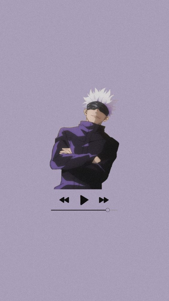 Music Satoru Gojo Wallpaper In 2021 Jujutsu Anime Wallpaper Aesthetic Anime